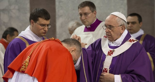 Italy Pope Ash Wednesday