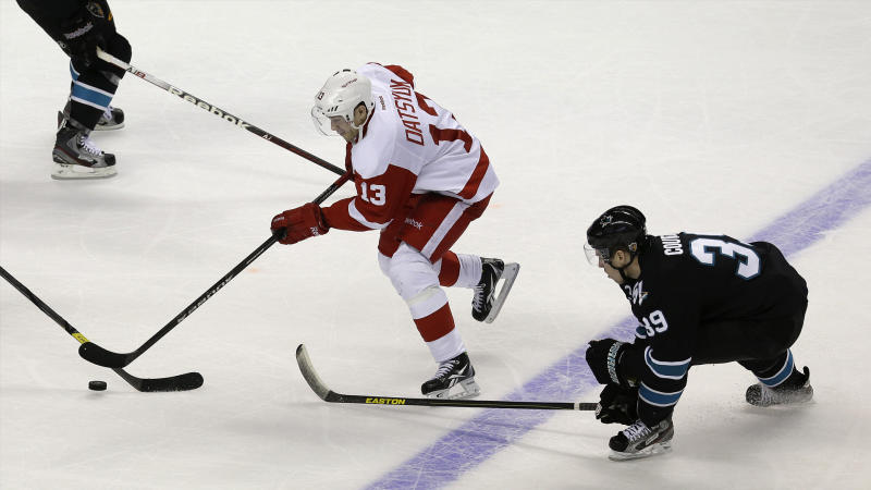 Red Wings hilariously troll Logan Couture on Pavel Datsyuk's birthday