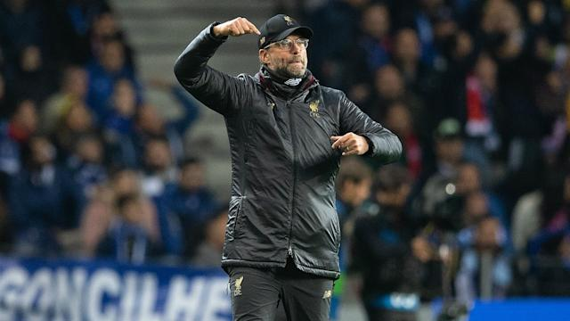 Liverpool boss Jurgen Klopp is looking forward to locking horns with Barcelona, who he makes favourites in their Champions League tie.