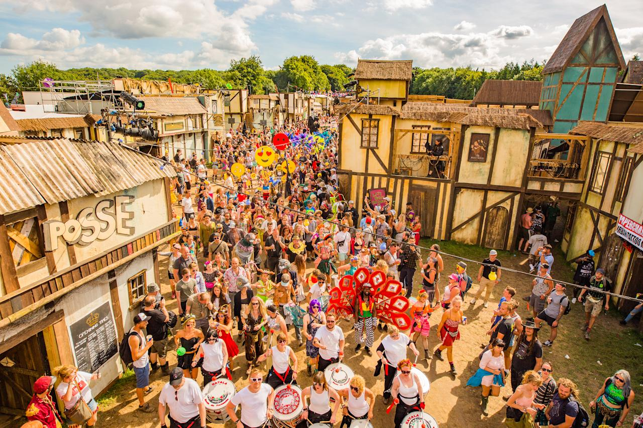 "<p><span><a rel=""nofollow"" href=""https://www.boomtownfair.co.uk/"">Boomtown</a> is entering its tenth running this year, and for the milestone anniversary, the </span><span>Hampshire-based festival is truly pulling out all the stops. </span><span>A bit of background for those that aren't familiar with Boomtown: </span><span>The four-day music festival (8 – 12 August) has made a name for itself since its launch in 2009 for its unique mix of immersive theatre elements.</span><br /><span>To clarify, that's incredible districts designed around the theme, film set-like stages and hundreds of actors dotted around the festival that populate the pop-up city. </span><br /><span>Each year is referred to as a 'Chapter' and reflects its ongoing theatre narrative. For 2018? Enter '</span><span>Chapter 10: The Machine Cannot Be Stopped'.</span><br /><span>This year is extra special because Boomtown are launching </span><a rel=""nofollow"" href=""https://www.boomtownfair.co.uk/boomtown-springs/""><span>Boomtown Springs</span></a><span>, an immersive </span><span>theatrical camping experience complete with all the best camping facilities and of course, access to the </span><span>rest of Boomtown city. In addition, the festival in opening one day early this year (on Wednesday the 8th), meaning one more day of partying in honour of its tenth year.</span><br />[Photo: Jody Hartley] </p>"