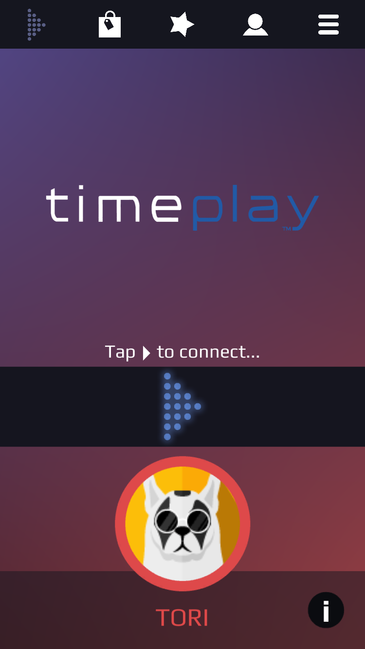 Screenshot of the TimePlay app (Yahoo Finance Canada)
