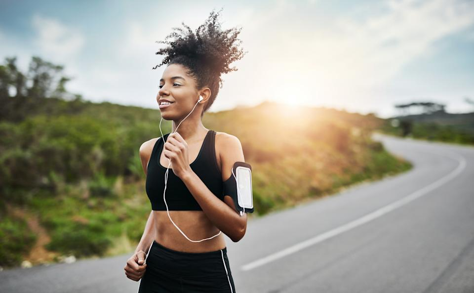 While it sounds obvious, getting active will help your mental health immensely. Photo: Getty