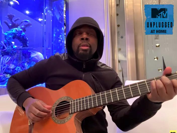 wyclef jean mtv unplugged at home