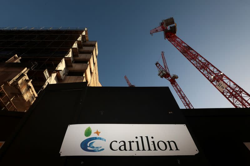 UK watchdog finds apparent breaches by KPMG's Carillion audit