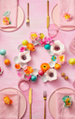 <p>Save paper egg cartons and give them a new life as a chic centerpiece. Cut out egg cups in groups of four and paint them white. Then arrange them in a circle and fill with eggs, flowers, or candy!<br></p>