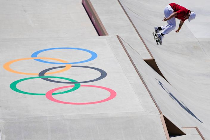 Tokyo Olympics Skateboarding (Copyright 2021 The Associated Press. All rights reserved)