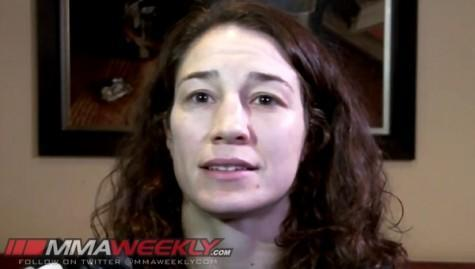 "UFC 170′s Sara McMann: ""When the Pressure Comes On, I Show Up"""