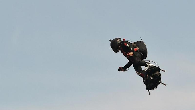 Back to the Future: French inventor to re-attempt flyboard Channel crossing
