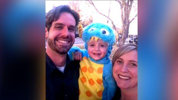 PHOTO: Jess H. seen with his son Evan and late wife Kellie, in this undated family photo. (Jess H)