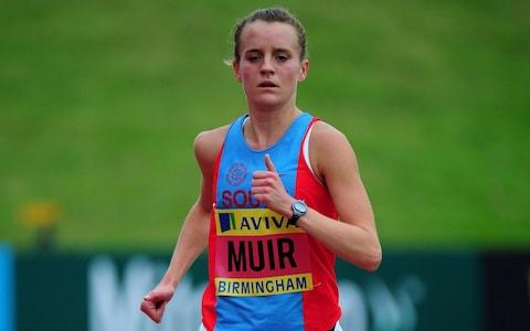 <span>Tina Muir battled for nine years with amenorrhea</span> <span>Credit: Getty Images </span>