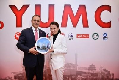 Governor Bevin and Joey Wat, CEO of Yum China