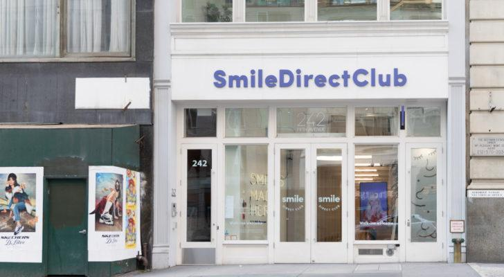 a Smile Direct Club storefront SDC stock