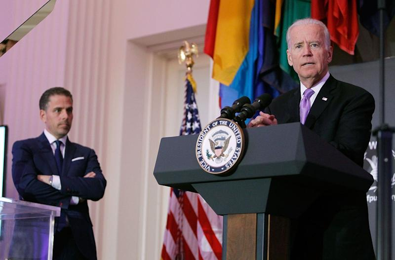 Biden Now Seen as Hunter's Dad and Not Obama's VP, Conway Says