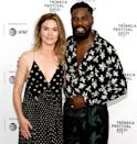 <p>Julia Stiles and Colman Domingo bring the patterns to the Tribeca Film Festival premiere of <em>The God Committee</em> in Brooklyn on June 20.</p>