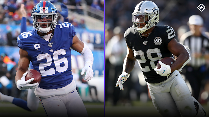 Updated 2020 Fantasy Football RB Rankings: Christian McCaffrey, Saquon Barkley lead deep group of running backs