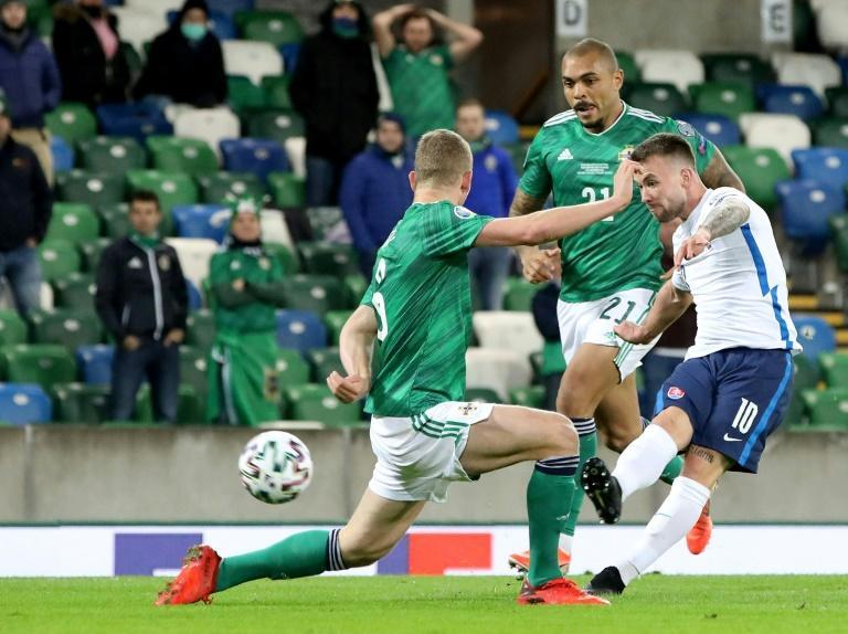 Slovakia got the better of Northern Ireland in extra time in Belfast