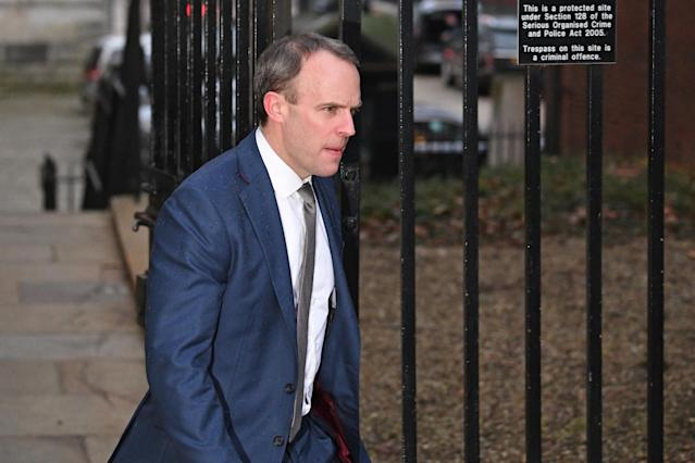 Dominic Raab said he would be following up the issues with Cypriot authorities (PA)