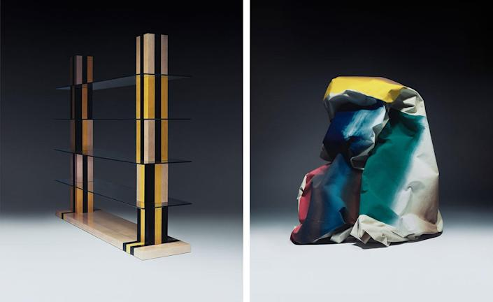 Exciting sculptural pieces from designer Jonathan Saunders' Debut Furniture Collection.
