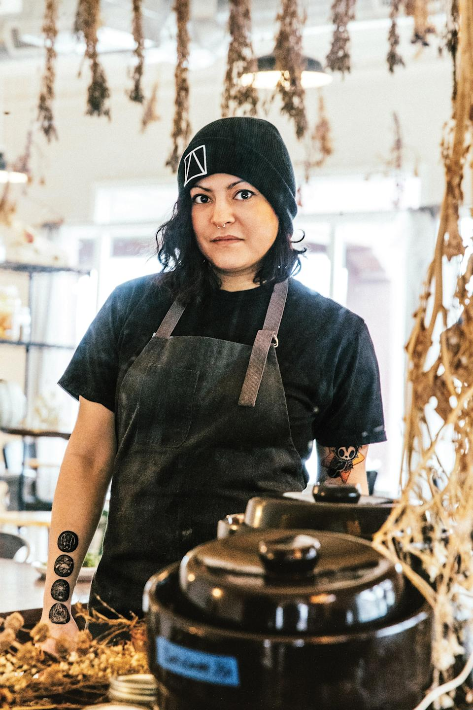 "<div class=""caption""> Misti Norris, chef/owner of Petra and the Beast in Dallas, TX </div> <cite class=""credit"">Photo by Samantha Jane</cite>"