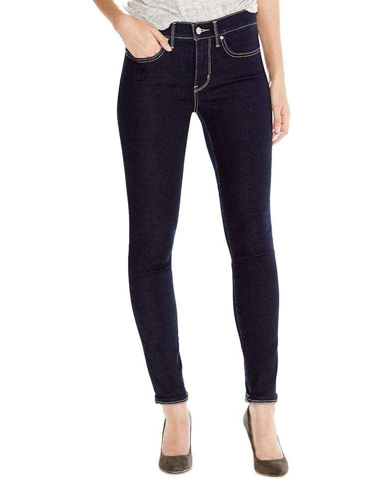 """<p>These <a href=""""https://www.popsugar.com/buy/Levi-311-Shaping-Skinny-Jeans-490228?p_name=Levi%27s%20311%20Shaping%20Skinny%20Jeans&retailer=macys.com&pid=490228&price=30&evar1=fab%3Aus&evar9=46612760&evar98=https%3A%2F%2Fwww.popsugar.com%2Ffashion%2Fphoto-gallery%2F46612760%2Fimage%2F46613209%2FLevi-311-Shaping-Skinny-Jeans&list1=shopping%2Csale%20shopping%2Cmacys&prop13=api&pdata=1"""" rel=""""nofollow"""" data-shoppable-link=""""1"""" target=""""_blank"""" class=""""ga-track"""" data-ga-category=""""Related"""" data-ga-label=""""https://www.macys.com/shop/product/levis-311-shaping-skinny-jeans?ID=2435175&amp;CategoryID=10066#fn=sp%3D1%26spc%3D18227%26ruleId%3D78%7CBOOST%20ATTRIBUTE%7CBOOST%20SAVED%20SET%26searchPass%3DmatchNone%26slotId%3D3"""" data-ga-action=""""In-Line Links"""">Levi's 311 Shaping Skinny Jeans</a> ($30, originally $60) are incredibly flattering.</p>"""