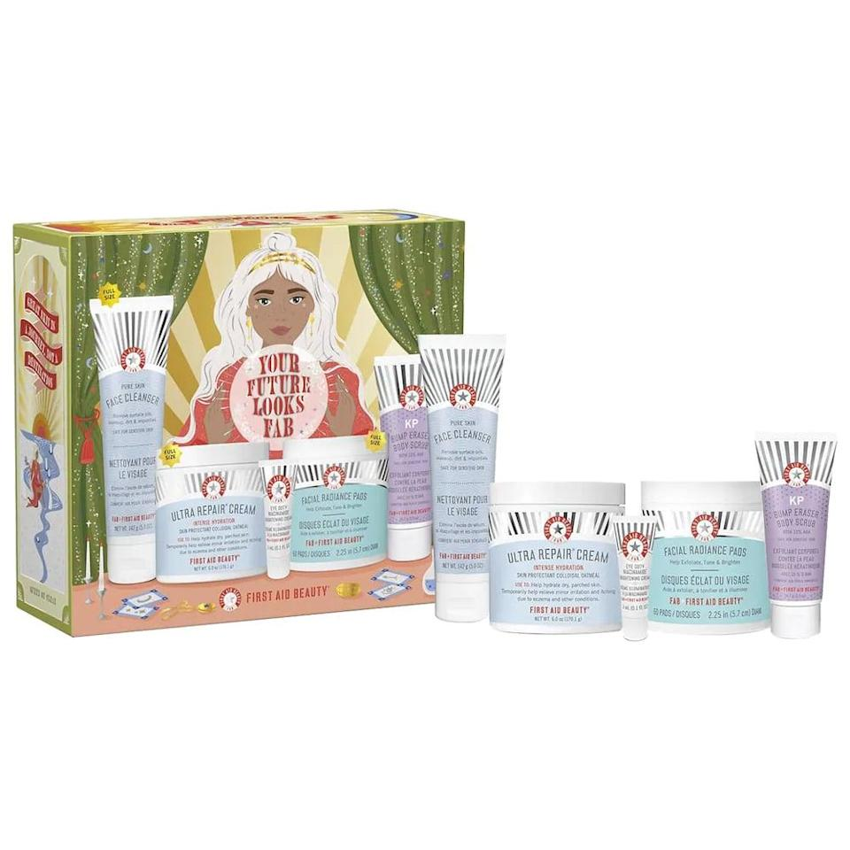 <p>This <span>First Aid Beauty Your Future Looks FAB Gift Set</span> ($49) is a great gift for a skin care lover who has sensitive skin. They'll love how rich and nourishing yet gentle these products are.</p>