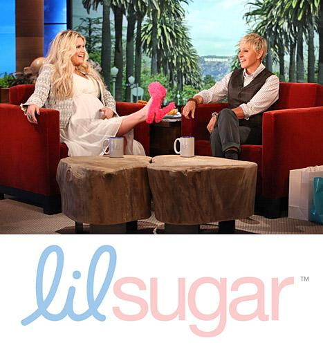 Jessica Simpson's Maternity Heels and More Fun Baby Gifts from Ellen DeGeneres