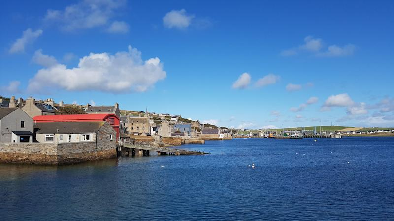 Orkney, the author's home (Photo: Richard Ainsworth)