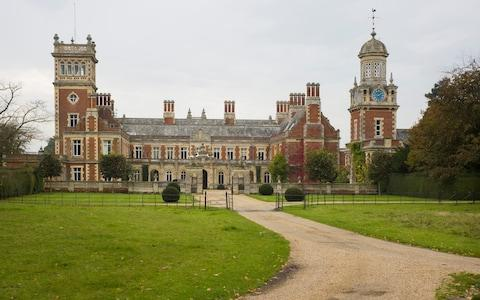 Somerleyton Hall, the family seat, near Lowerstoft, in Suffolk - Credit: David Rose/The Telegraph