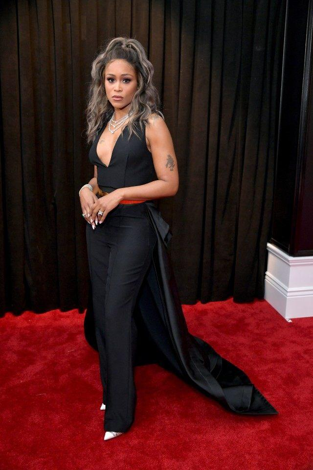 Eve at 2019 grammys