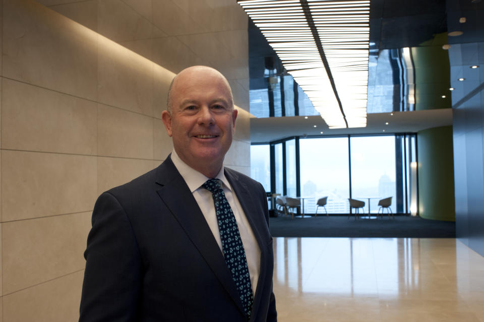 KPMG CEO Andrew Yates. (Source: Supplied)