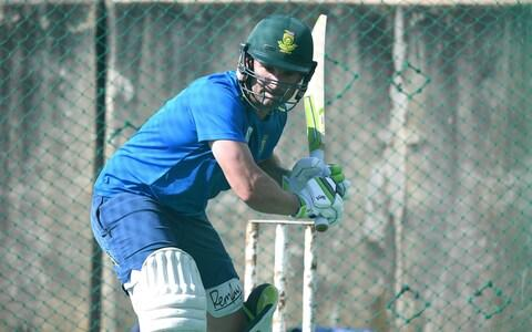 Dean Elgar during the South African national mens cricket team training session at SuperSport Park - Credit: Gallo Images/Getty Images