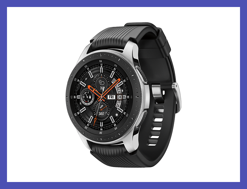 Get fit—and get $90 off—with this Samsung Galaxy Smart Watch. (Photo: Walmart)