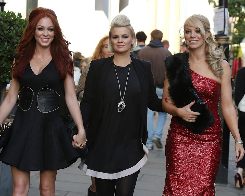 Kerry Katona reunited with her Atomic Kitten bandmates from 2012 until 2017, after initially leaving the group in 2001. (Neil P. Mockford/FilmMagic)