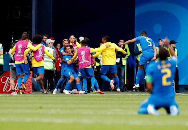 Brazil vs Costa Rica, World Cup 2018: Tite avoids joining Gareth Southgate in physio room after wild goal celebration