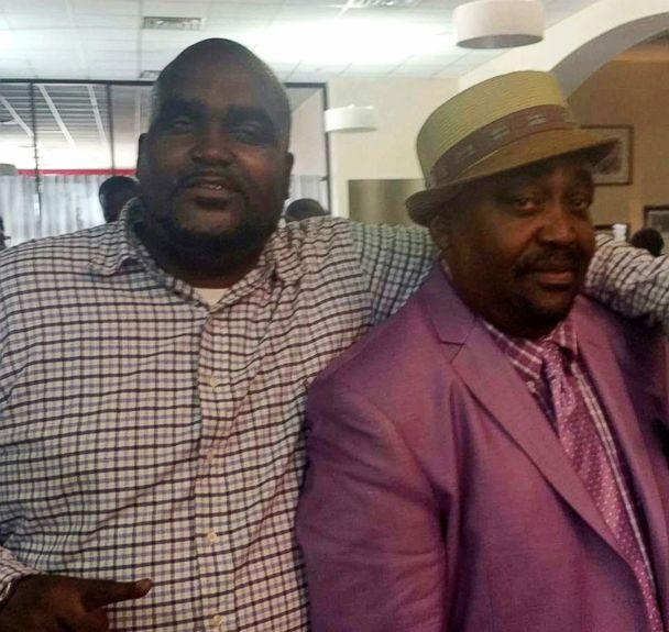 PHOTO: Terence Crutcher, left, with his father, Joey Crutcher. Terence Crutcher, an unarmed black man was killed by a white Oklahoma officer, Sept. 16, 2016, who was responding to a stalled vehicle. (Crutcher Family/Parks & Crump, LLC via AP Photo)