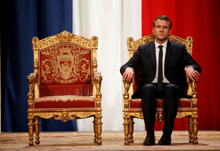 France's Macron says EU treaty change 'not taboo'