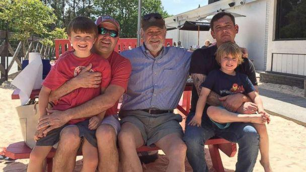 PHOTO: Will Settle with his son, father, brother and nephew. (Courtesy of Kelen and Will Settle)
