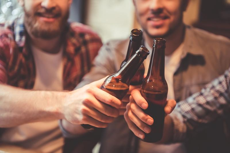 New research has suggested men hoping to have a baby should give up alcohol six months before conception [Photo: Getty]