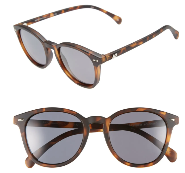 These retro shades feature a cool matte tortoiseshell finish. (Photo: Nordstrom)