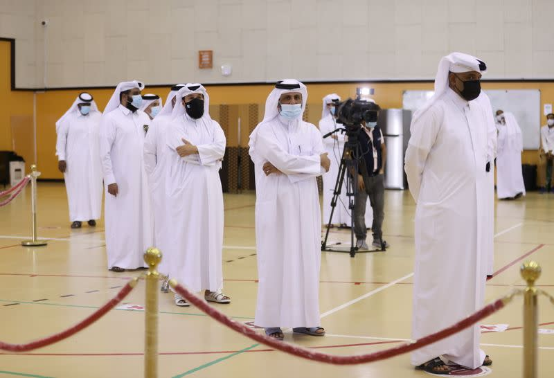 Qataris vote in the Gulf Arab state's first legislative elections for two-thirds of the advisory Shura Council
