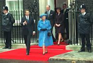 Labour returned to power with Tony Blair in 1997 but he and the Queen were said to have had uneasy relationship. Mr Blair is said to have thought the royals out of touch, while Her Majesty is said to have had concerns about his disregard for tradition and some of his policies. [Photo: PA]