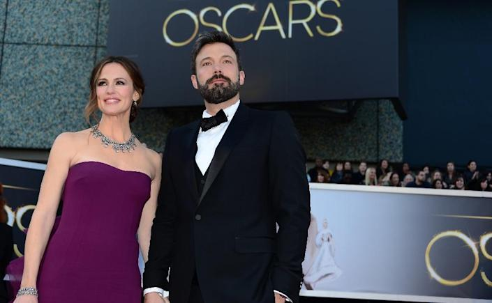 Unlike many Hollywood couples, Ben Affleck and Jennifer Garner did not have a prenuptial agreement on dividing their fortunes in case of divorce, according to TMZ (AFP Photo/Frederic J. Brown)