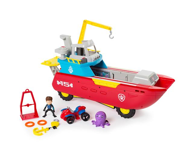 Paw patrol to the rescue on land and sea.