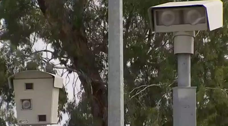 A technical glitch affected speed cameras around Melbourne. Source: 7 News