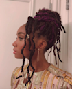 Gradient colors and wire cuffs take locs to the next level.