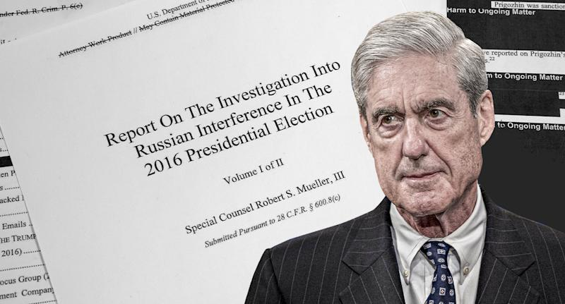 Robert Mueller. (Yahoo News photo illustration; photos: AP, Getty Images)