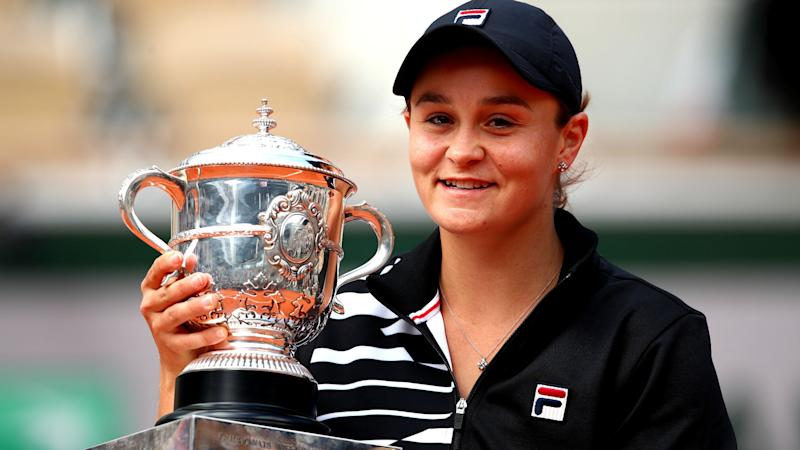 Barty won't defend French Open title