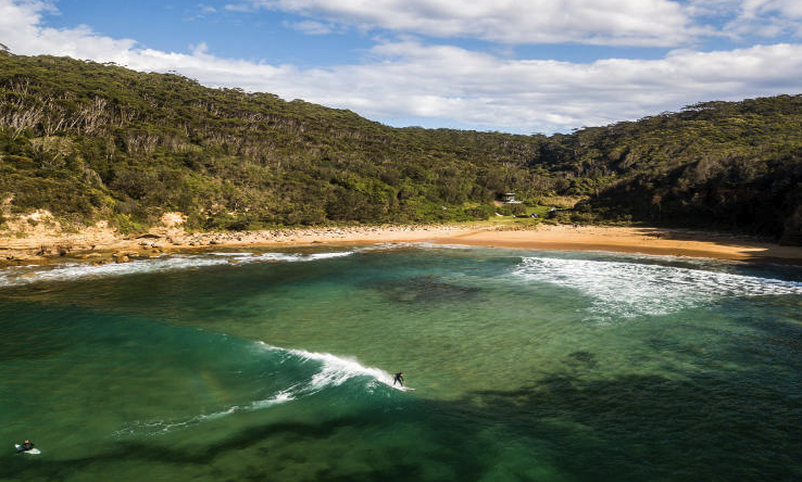 The Bouddi National Park is an extensive area of bushland regularly frequented by families on walks. Source: Department of Planning, Industry and Environment/ John Spencer