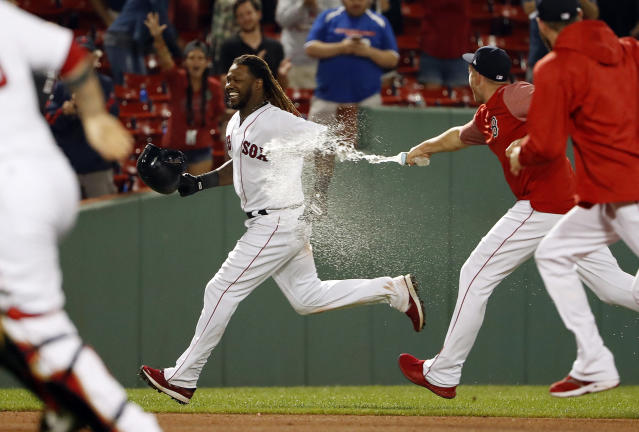 Will the Red Sox be impacted after their sign-stealing scandal? (AP Photo/Winslow Townson)