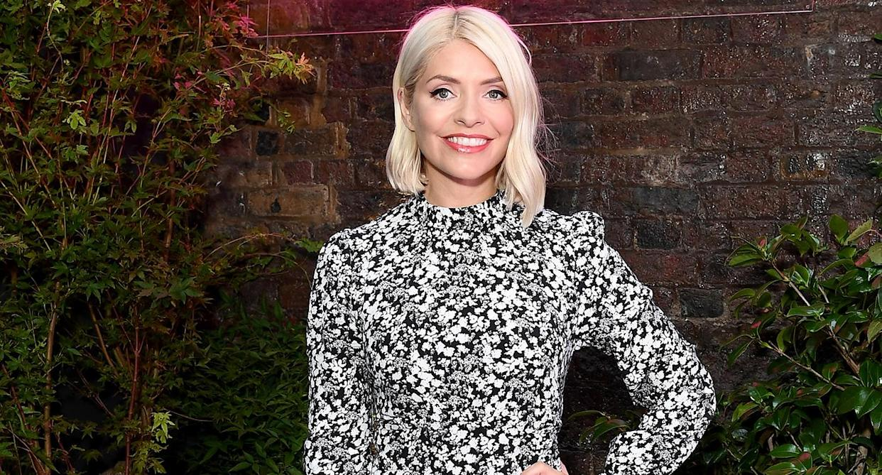 The Holly Willoughby-approved dress will definitely sell out this autumn. (Getty Images)